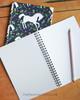 Horse Gaits Equestrian Spiral Notebook