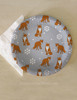 Winter Snow Foxes Paper Party Plates (8 pk)