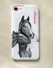 Mare and Foal Personalized Horse Phone Case