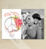 Peace Sign Photo Holiday Cards (10 pk)