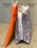 Gray Hunt Horse Equestrian Art Accessory Pouch