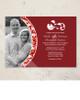 Damask Border Photo Template Wedding Invitation (10 pk)