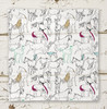 Horses All Over Equestrien Themed Square Scarf