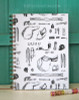 Horse Show Essentials Equestrian Bullet Journal