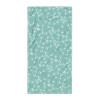 Teal Blue Snaffle Bit Pattern Horse Lover Beach Towel