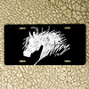 Abstract Horse Head License Plate for your car or truck!
