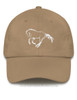 Galloping Horse Equestrian Emroidered Hat