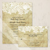 Vintage Queen Anne's Lace Wedding Invitation (10 pk)