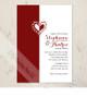 Whimsical Heart Wedding Invitation (10 pk)
