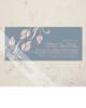 Side Leaves Flourish Wedding Invitation (10 pk)