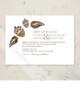 Fall Acorns and Leaves Wedding Invitation (10 pk)