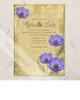 Poppy Flowers Wedding Invitation (10 pk)