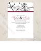 Tree Branches Wedding Invitation (10 pk)