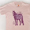 Horse Crazy Kids Tee Shirt