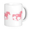Heart Horse Valentines Day Equestrian mug