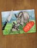 Miniature Donkies Glass Cutting Board