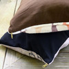 Gray Galloping Horses Equestrian Pattern Dog Bed