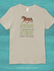 Arabians Are Better Horse Adult T-Shirt