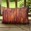 Abstract Horse Head Equestrian Pillow
