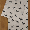 Galloping Horses Patterned Equestrian Table Cloth