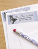 Horse Head Drawing Return Address Labels
