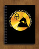 ATAA Logo Spiral Notebook