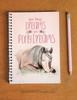 Pony Dreams Spiral Notebook