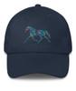 Trotting Flower Horse Emroidered Hat