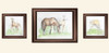Spring Foals watercolor paintings