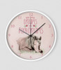 Pony Dreams Equestrian Wall Clock