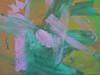 Tuscan Garden - Acrylic Abtract Painting