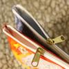 Modern Striped Horse Bits  Accessory Pouch
