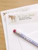 Watercolor Pony Art Return Address Labels