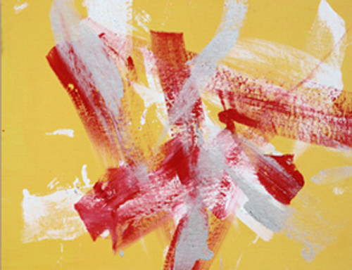 Summer Carnival - Acrylic Abtract Painting