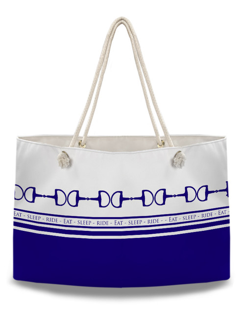 Eat Sleep Ride Equestrian Weekender Tote Bag