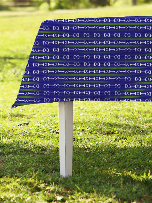 Horse Bits striped Equestrian Table Cloth for any occasion.