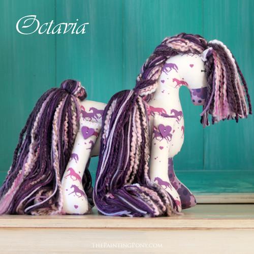 "SOLD Signature Flopsy Cotton Pony ""Octavia"""