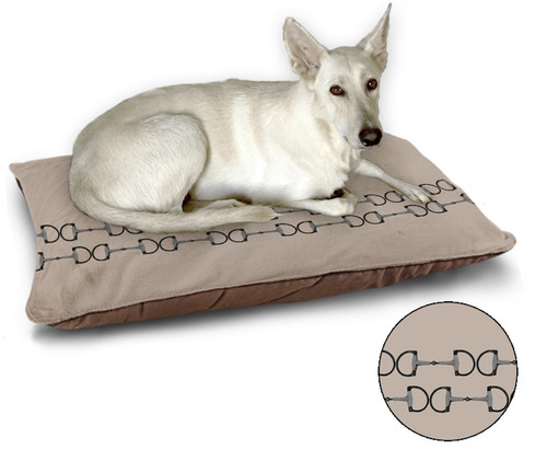 Horse bits equestrian pet or dog bed