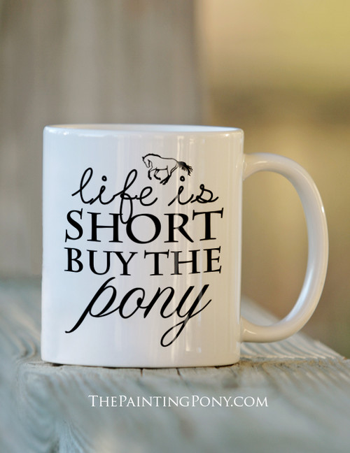 Buy the Pony Coffee Mug