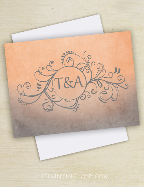 Artsy Bohemian Thank You Cards (10 pk)