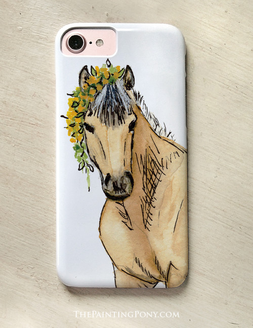 Cute Buckskin Pony Equestrian Phone Case