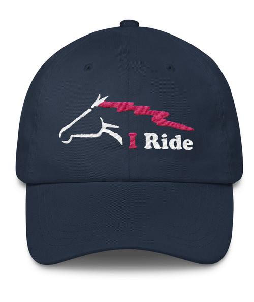 I Ride equestrian ball cap