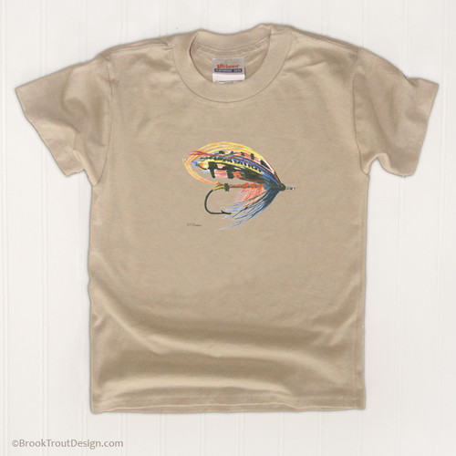 Classic Salmon Fly Kids T-Shirt