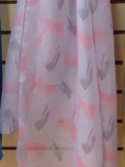 Fly Lures Patterned Chiffon Scarf