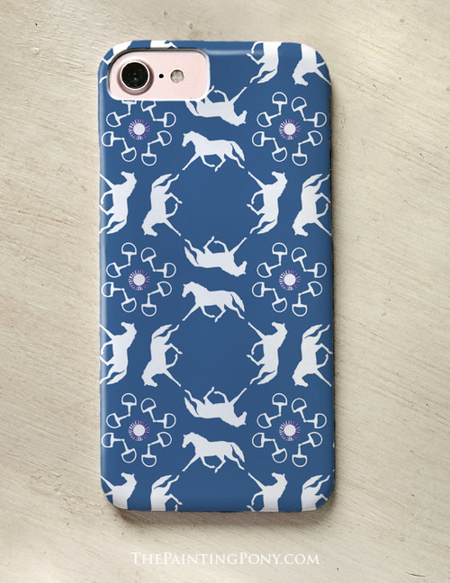 Ponies and Bits Pattern Phone Case