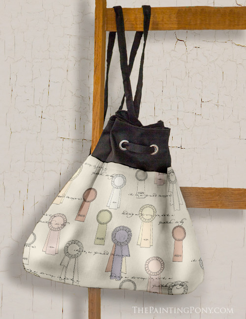 Horse Show Ribbons Pattern Sling Bag