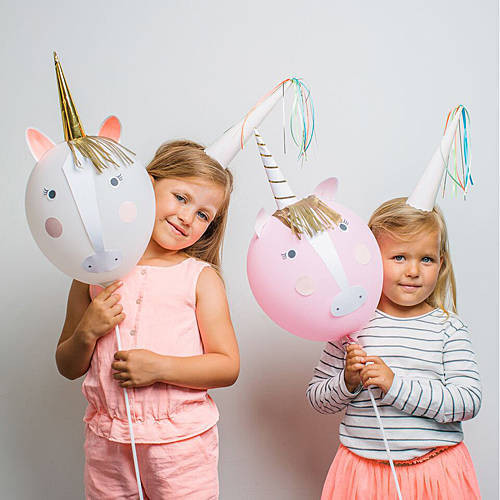 Unicorn Pony Party Balloon Kit