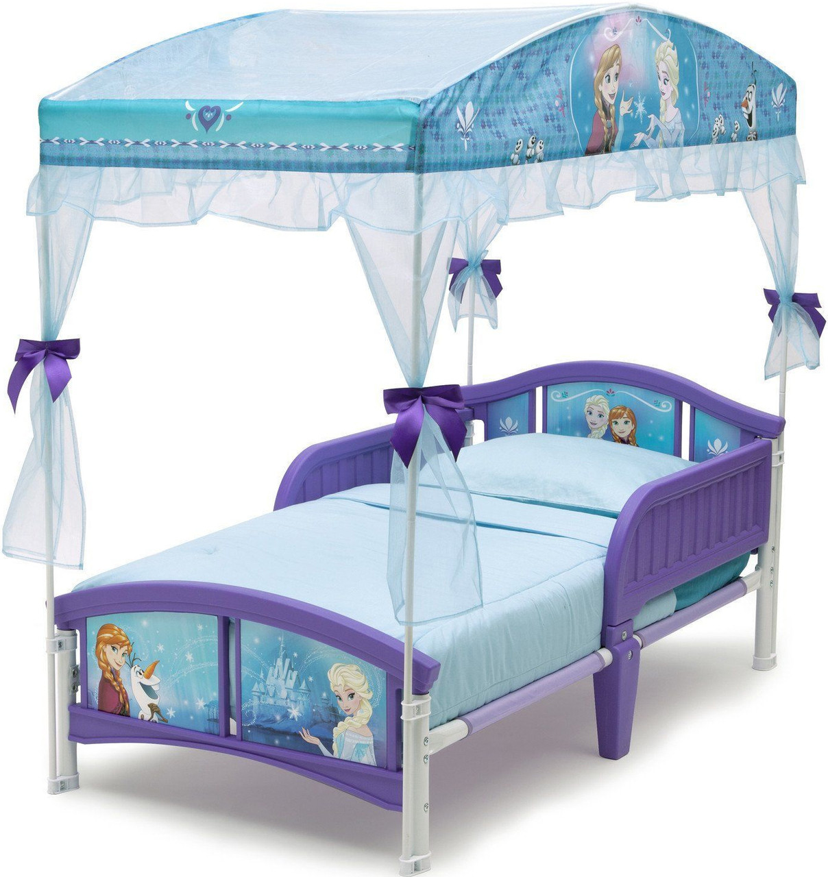 Frozen Canopy Toddler Bed Cb Furniture