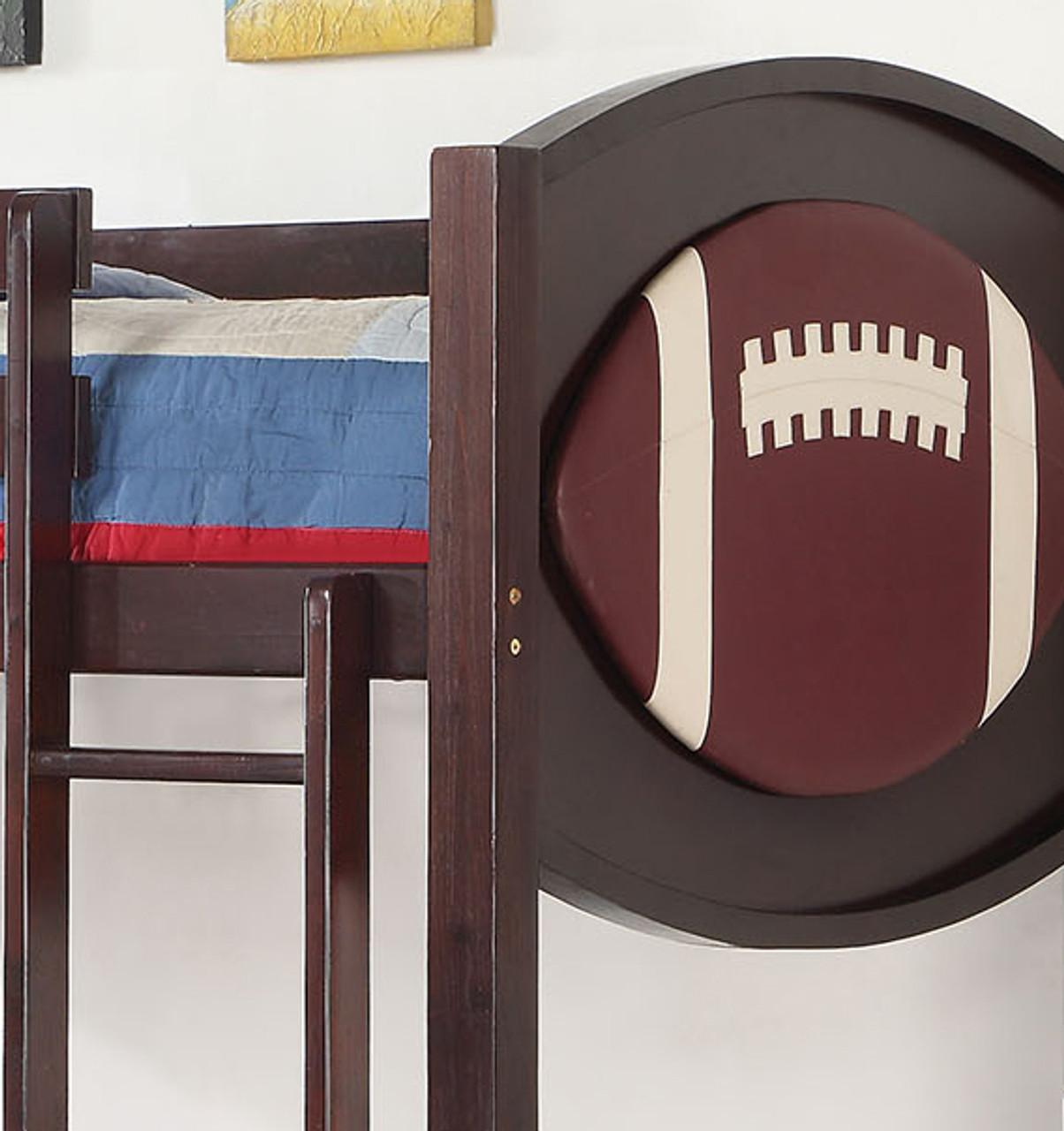 Matias Football Twin Twin Bunk Bed Cb Furniture
