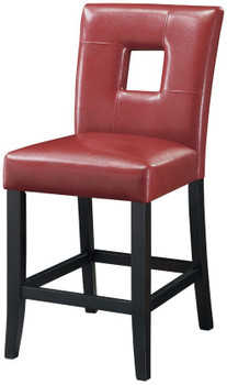 Austin Red Leather Lounge Chair Cb Furniture